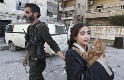 Halepten tüyler ürperten çatışma görüntüleri 2
