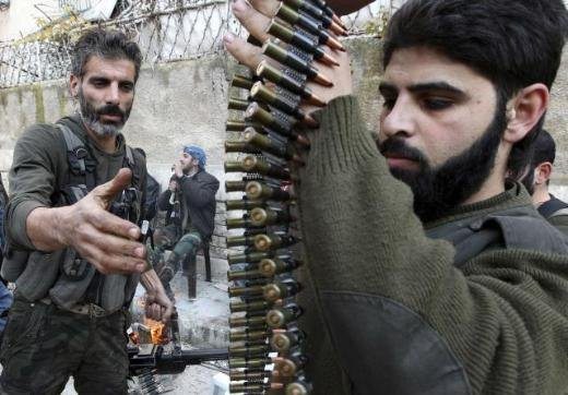 Halepten tüyler ürperten çatışma görüntüleri 3
