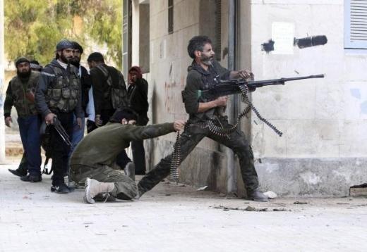 Halepten tüyler ürperten çatışma görüntüleri 4