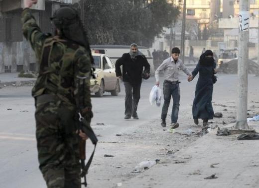 Halepten tüyler ürperten çatışma görüntüleri 5