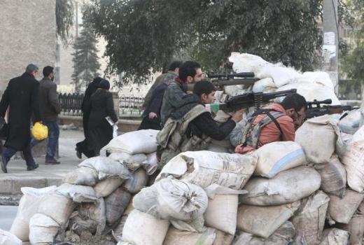 Halepten tüyler ürperten çatışma görüntüleri 6