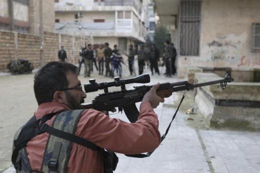Halepten tüyler ürperten çatışma görüntüleri 7