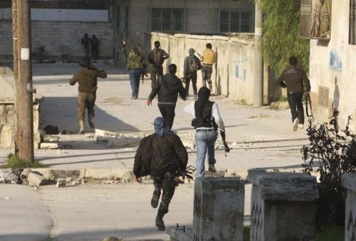 Halepten tüyler ürperten çatışma görüntüleri 9