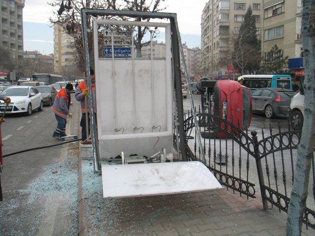 Konyada trafik kazası: 3 yaralı 1