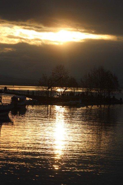 Beyşehir Gölünden kartpostallık görüntüler 2
