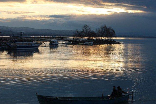 Beyşehir Gölünden kartpostallık görüntüler 4