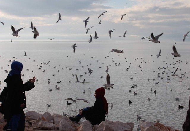 Beyşehir Gölünden kartpostallık görüntüler 7