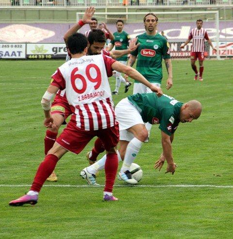 Konyaspor dört köşe! 13