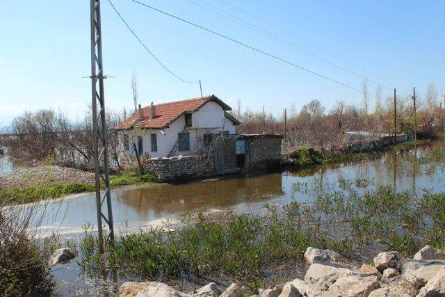 Beyşehir Gölü taştı 2