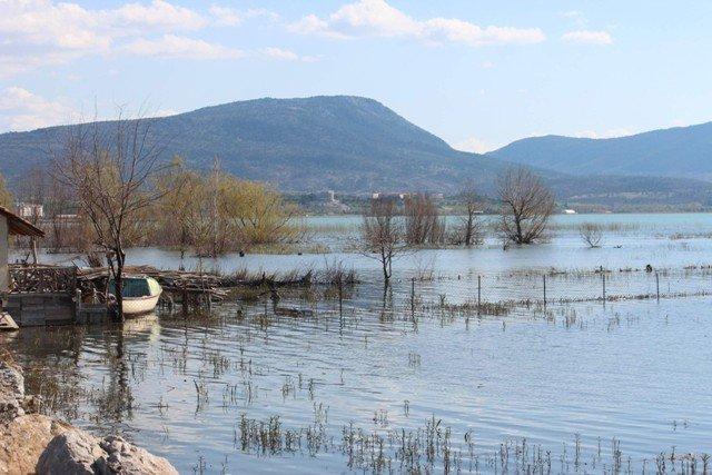Beyşehir Gölü taştı 4