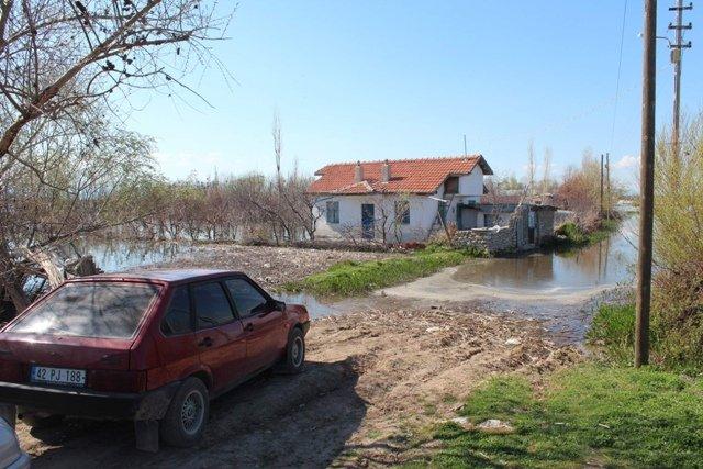 Beyşehir Gölü taştı 5
