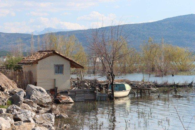 Beyşehir Gölü taştı 7