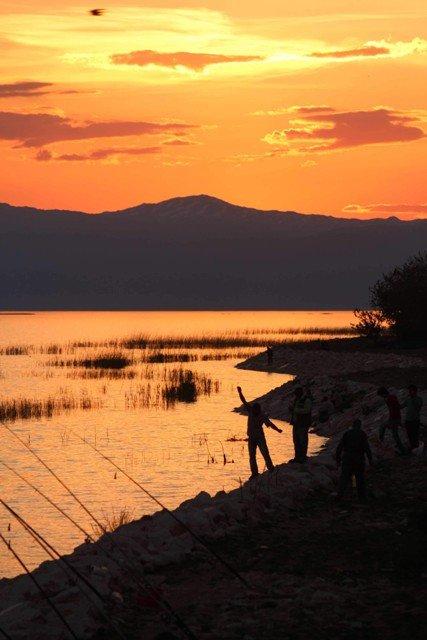 Beyşehir Gölünde balık tutmak yetmiyor! 8