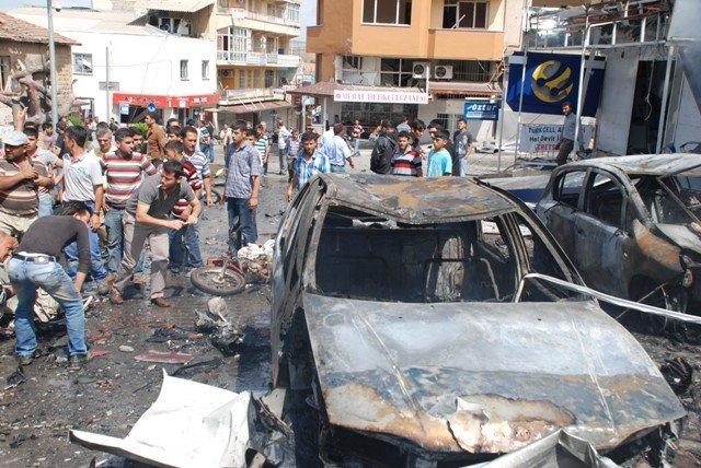 Reyhanlıda bomba yüklü araçla saldırı 2