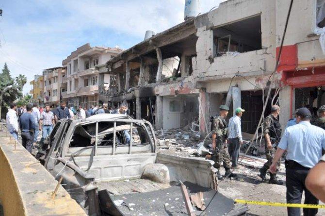 Reyhanlıda bomba yüklü araçla saldırı 4