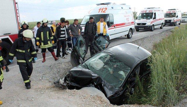 Konyada feci kaza: 4 ölü 1