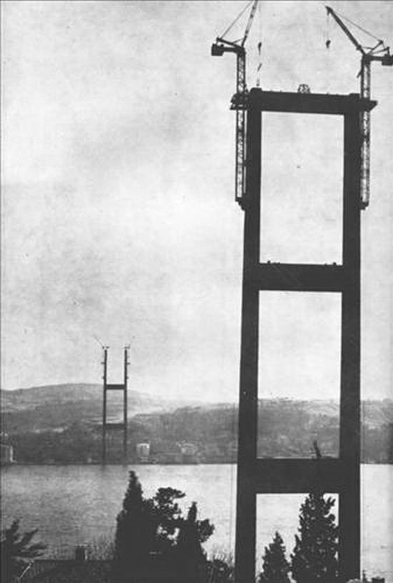 Boğaziçi Köprüsünün yapılış hikayesi 16