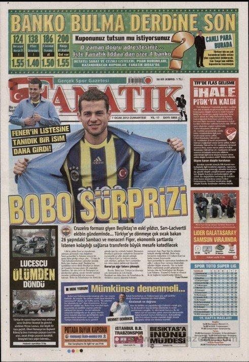 Bir zamanların balon transfer manşetleri 13