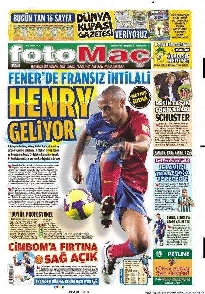 Bir zamanların balon transfer manşetleri 2