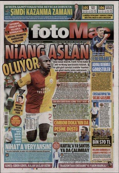 Bir zamanların balon transfer manşetleri 21