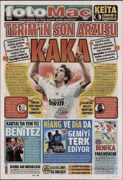 Bir zamanların balon transfer manşetleri 28
