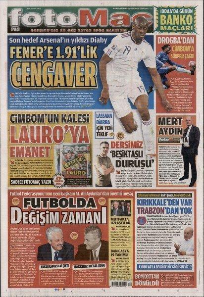 Bir zamanların balon transfer manşetleri 4