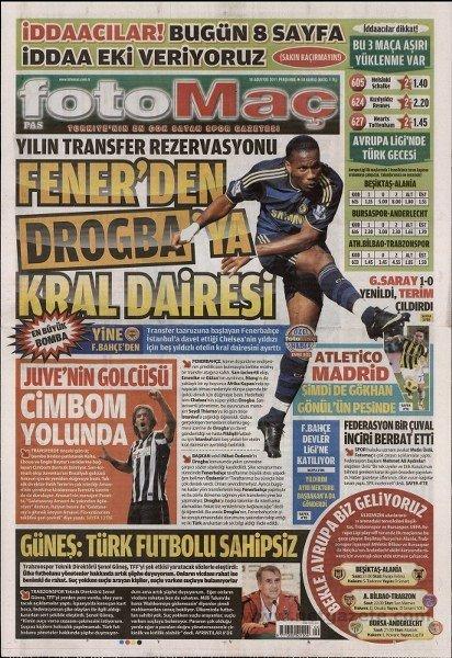 Bir zamanların balon transfer manşetleri 5