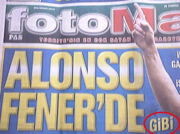 Bir zamanların balon transfer manşetleri 8