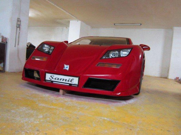 Türk Yapımı Ferrari Şamil 16