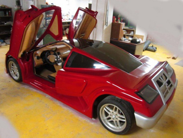 Türk Yapımı Ferrari Şamil 17