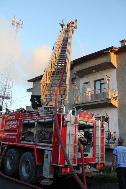 Söndürülmeyen ocak evi yaktı 8