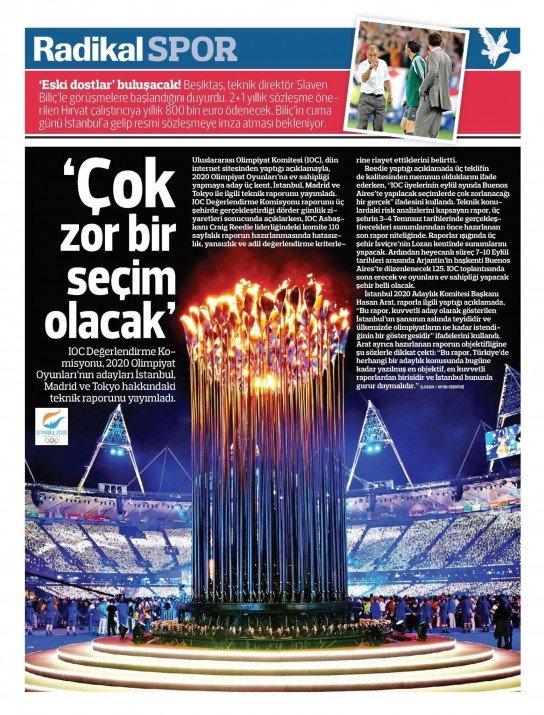 UEFAnın şok kararı gazete manşetlerinde 14