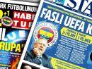 UEFAnın şok kararı gazete manşetlerinde