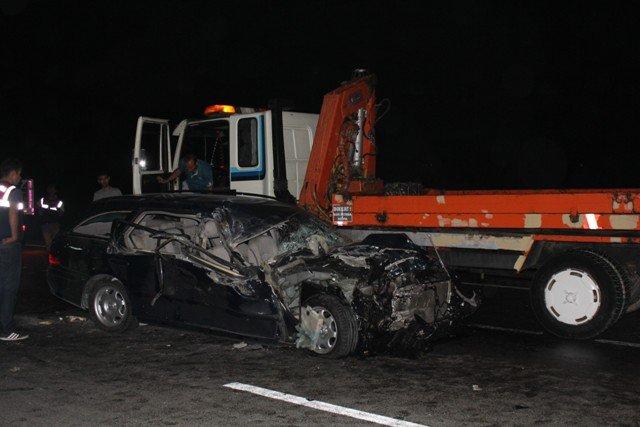 Gurbetçi aile kaza kurbanı : 3 ölü 2