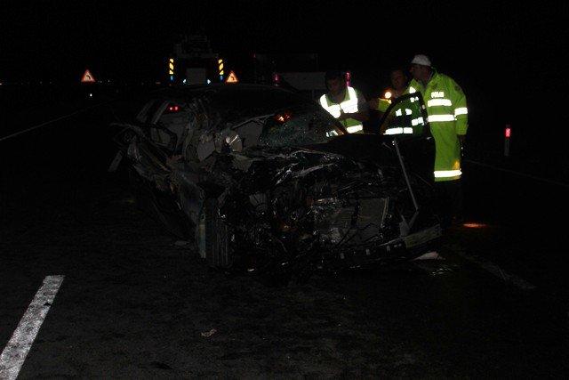 Gurbetçi aile kaza kurbanı : 3 ölü 4