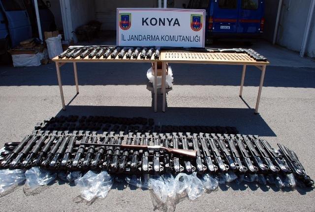 Konyada suikast silahı operasyonu 7
