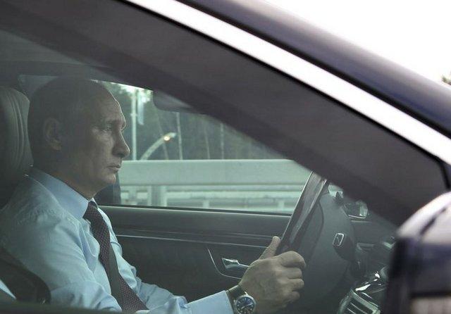 Bu Araba Vladimir Putin için Tasarlandı 1