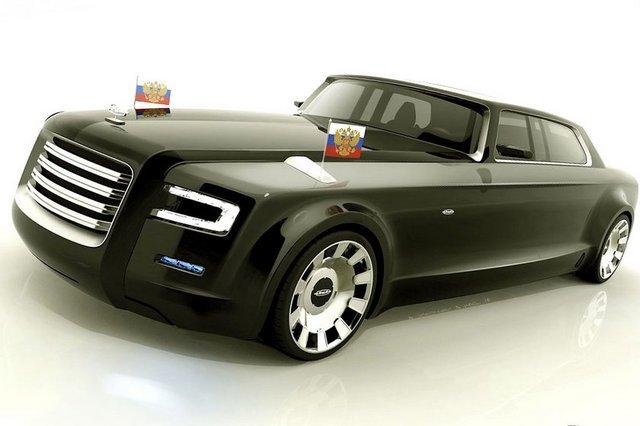 Bu Araba Vladimir Putin için Tasarlandı 12