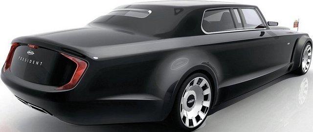 Bu Araba Vladimir Putin için Tasarlandı 4