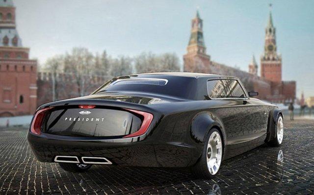 Bu Araba Vladimir Putin için Tasarlandı 8
