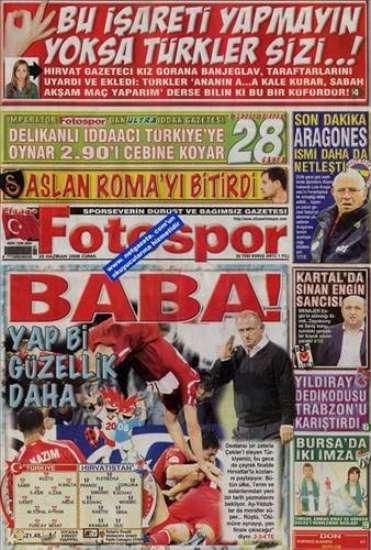 Unutulmayan gazete manşetleri 14