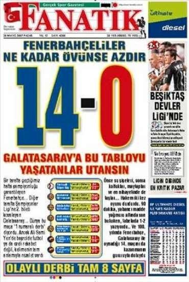 Unutulmayan gazete manşetleri 21