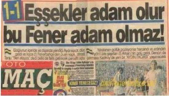 Unutulmayan gazete manşetleri 29