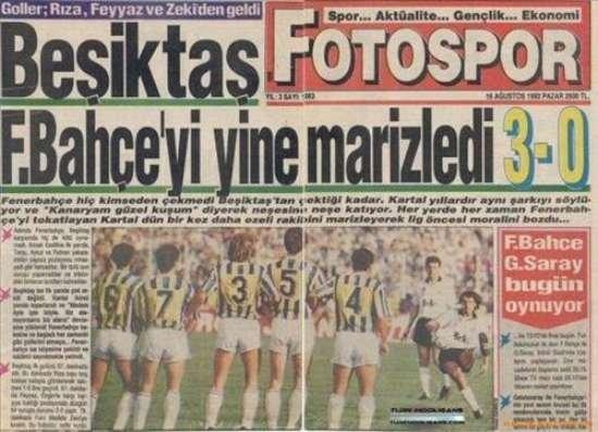 Unutulmayan gazete manşetleri 7