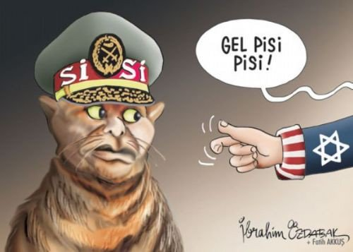 Mısır katliamının karikatürleri 1