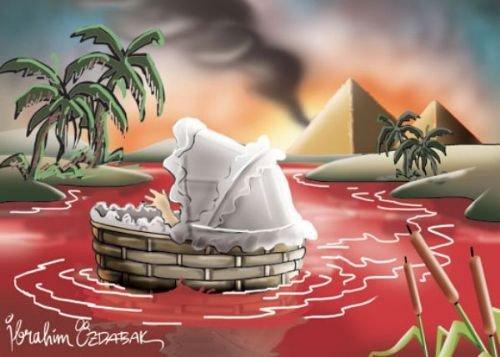 Mısır katliamının karikatürleri 10