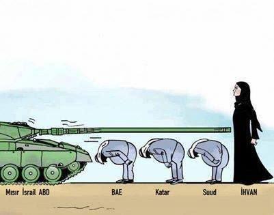 Mısır katliamının karikatürleri 13