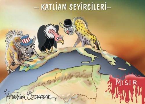 Mısır katliamının karikatürleri 15