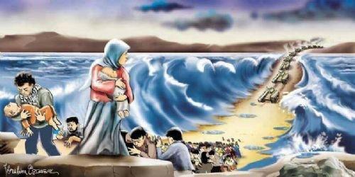 Mısır katliamının karikatürleri 16