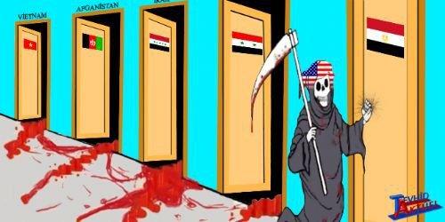 Mısır katliamının karikatürleri 2